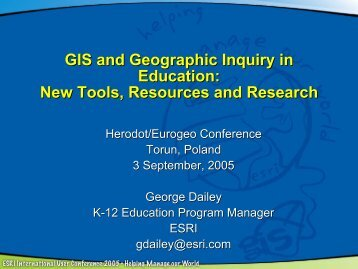 New Tools, Resources and Research - HERODOT Network for ...