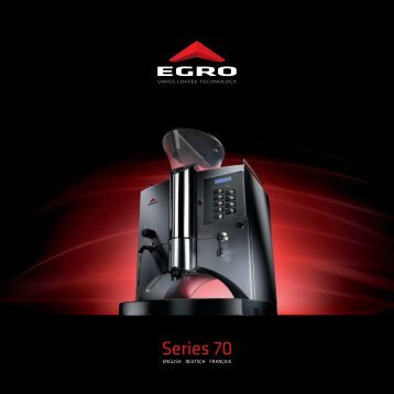 Series 70 - Egro Coffee Systems AG