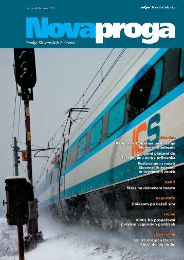 Januar-februar (.pdf, 3 MB) - Slovenske železnice