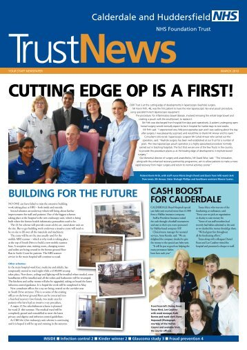 cutting edge oр is a first! - Calderdale and Huddersfield NHS ...