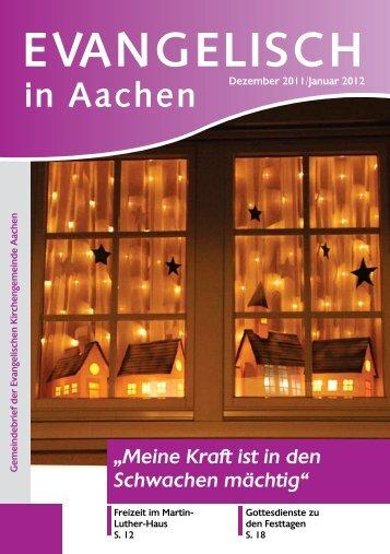 Kirche mit - Evangelische Kirchengemeinde Aachen