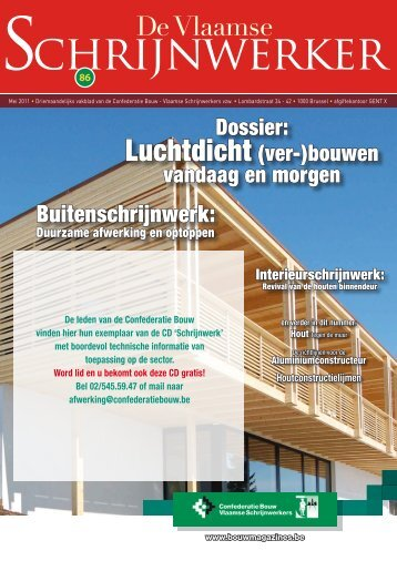 Vlaamse Schrijnwerker_mei_2011.pdf - Magazines Construction