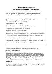 Pädagogisches Konzept - Albert-Schweitzer-Realschule Böblingen ...