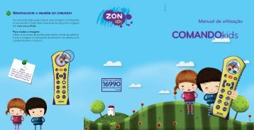 Manual Comando Kids - Zon