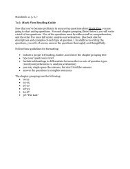 Standards: 2, 5, 6, 7 Task: Huck Finn Reading Guide Now that you ...
