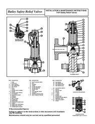 Bailey 716H - Safety Systems UK Ltd