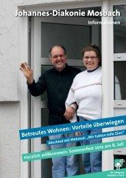 Informationen 1/2012 (3 2 MB) - Johannes-Diakonie Mosbach