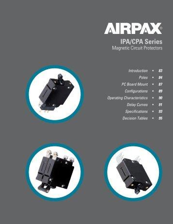 IPA/CPA Series - Airpax - Sensata