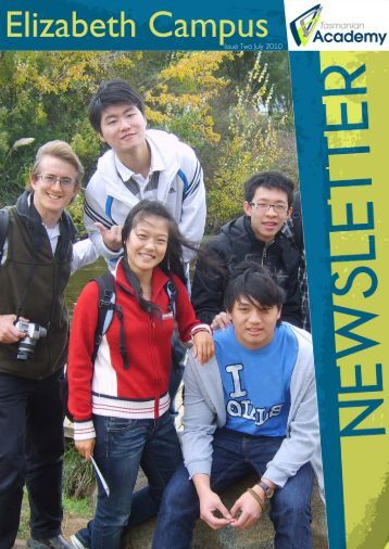 Issue Two July 2010 - Tasmanian Academy