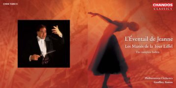 French Ballet Music of the 1920s - Chandos