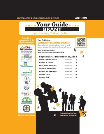 Your Guide Brant Fall 2012 - Brant Early Years Community