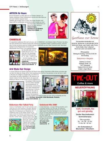 Gasthaus zur Sonne - CITY Stadtmagazin