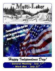 Happy Independence Day! - Multilakes.com