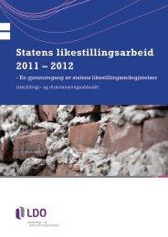 Rapporten. - Likestillings- og diskrimineringsombudet