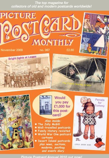 Would you pay £1,000 for this post- card? - Picture Postcard Monthly