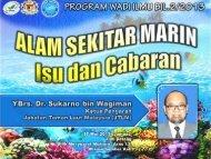 alam sekitar marin isu dan cabaran- wadi ilmu bil.2.2013 - NRE