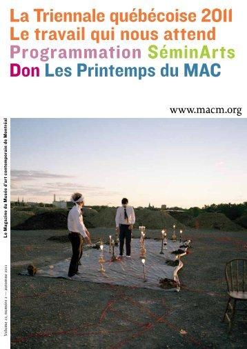 automne 2011 Télécharger le document (PDF 3.1 Mo ) - Musée d'art ...