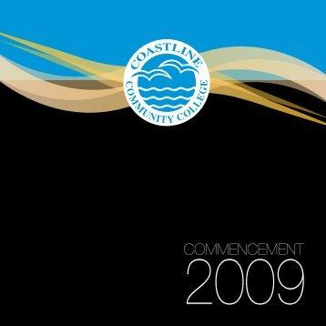 2009 Graduation.pdf - Coastline  Community College
