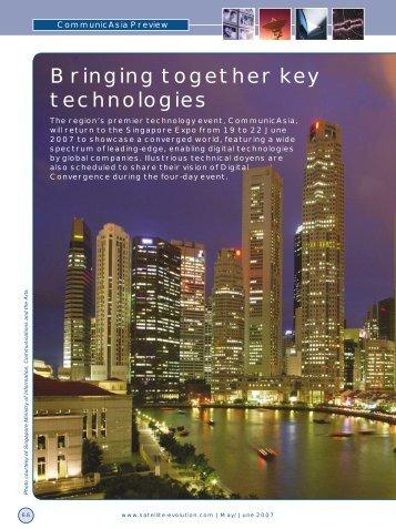 Bringing together key technologies - Satellite Evolution Group