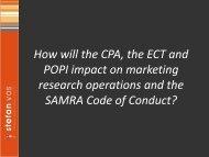 CPA Presentation - SAMRA 2011