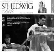 Hedwigsbote - St. Hedwig