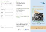 Link zum Veranstaltungsflyer - Comenius-Institut