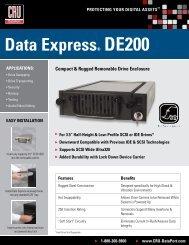 Data express® De200 - Storesys