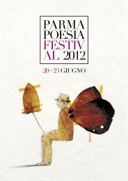 Brochure festival poesia - Agriturismi e Bed and breakfast in Italia
