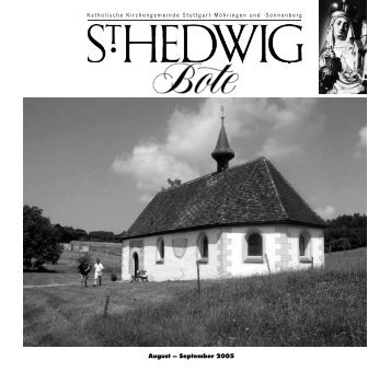 Edith Stein – Jüdin, Philosophin, Ordensfrau - St. Hedwig