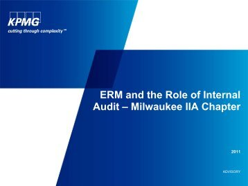 Risk Management - The Institute of Internal Auditors