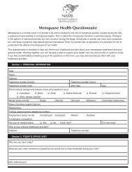 Meno Health Questionnaire (Page 1) - North American Menopause ...