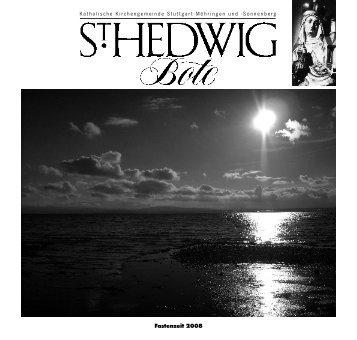 im Labyrinth des neuen Jahres - St. Hedwig