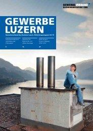 Ihr Erfolg – unser Ziel! - Gewerbeverband des Kantons Luzern