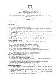 24. aprīļa domes sēdes protokols - Ropaži.lv