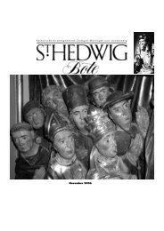 November 2006 - St. Hedwig