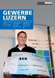 KMU? - Gewerbeverband des Kantons Luzern