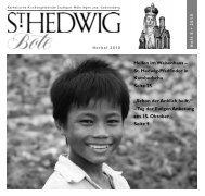 Tag der Ewigen Anbetung - St. Hedwig