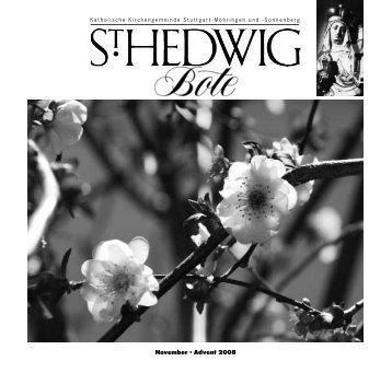 Zwölf – Zahl biblischer Vergangenheit, Gegenwart und ... - St. Hedwig