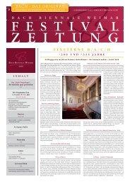 10.7.2010 - Bach Cantatas