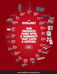 our products come with a warranty that lasts - IC Intracom