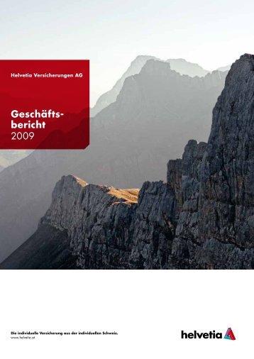 Geschäfts- bericht 2009