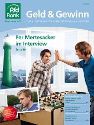 Interview mit Per  Mertesacker - PSD Bank Hannover eG