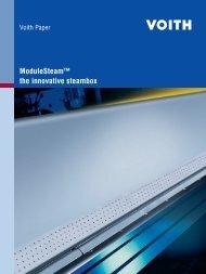 ModuleSteam™ the innovative steambox - Voith