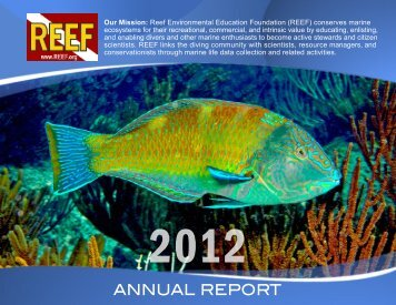 REEF Annual Report 2012
