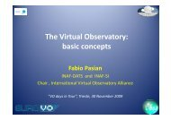 The Virtual Observatory: basic concepts basic concepts - INAF