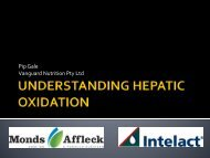 Introducing hepatic oxidation, Phillip Gale, Vanguard ... - DairyTas