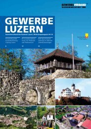 Wirtschaftspolitik - Gewerbeverband des Kantons Luzern