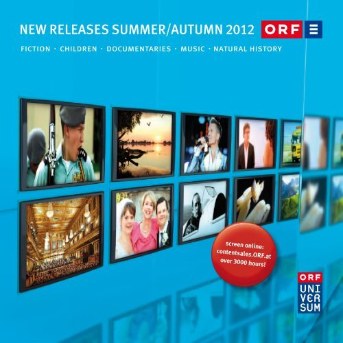 New Releases Summer Autumn 2012 Orf