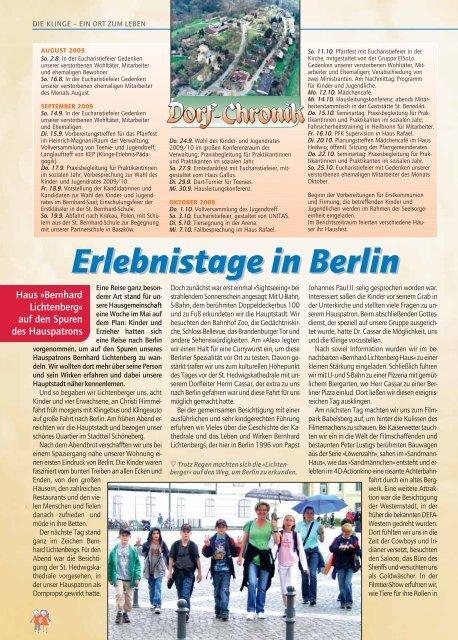 Weg der Sehnsucht - Kinder- und Jugenddorf Klinge, Seckach