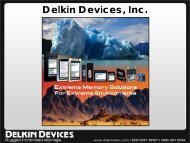 Delkin Devices, Inc. - Industrial Flash Memory and Storage
